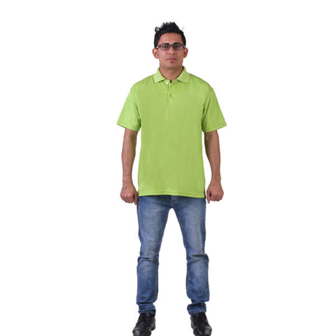 Green Collared T- Shirt, FNBFleet