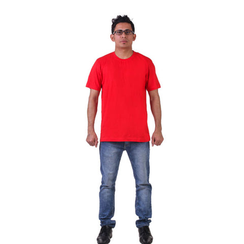 Red Round Neck T- Shirt, FNBFleet