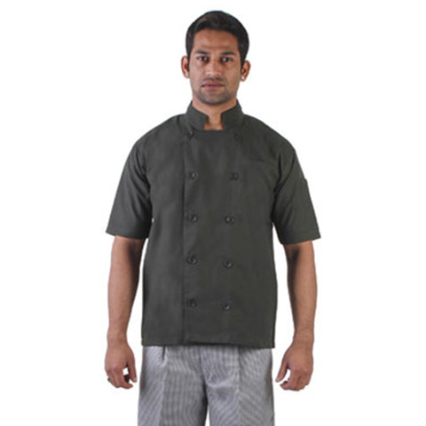 Olive Green Chef Coat, The Classic Collection