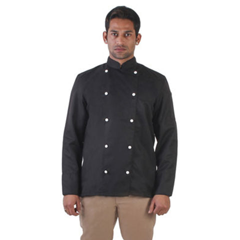 Black Chef Coat, The Classic Collection
