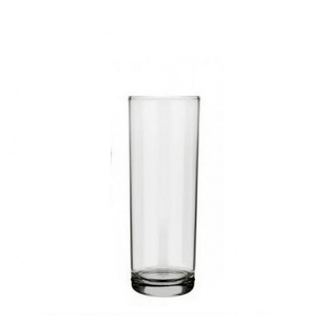 Tube Glass, 320 ml, 7800 Cylinder, Nadir Glass, Set of 24