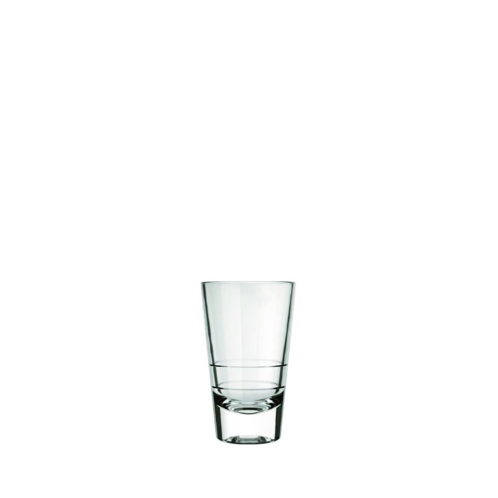 Shot Glass, 100 ml, 3033 Dose, Nadir Glass, Set of 24