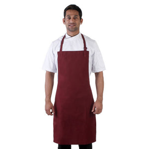 Maroon Kitchen Neck Apron