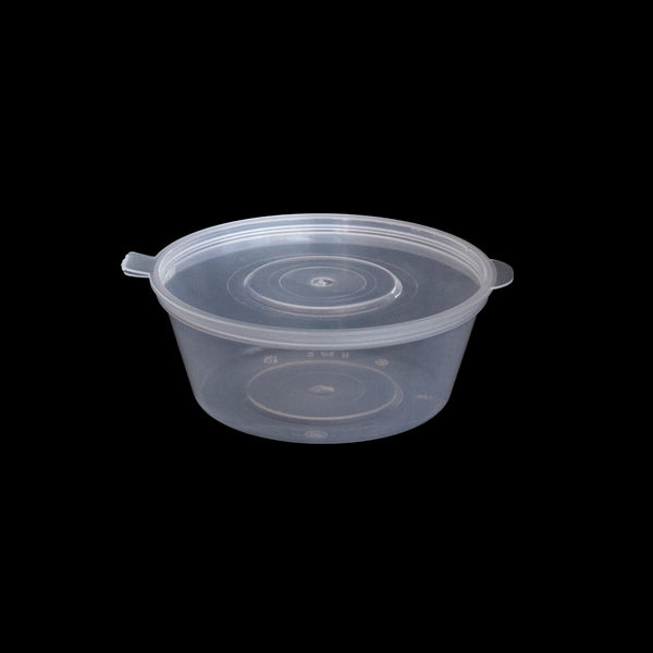50 ML Dip Bowl with Attached Lid