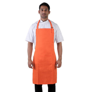 Orange Kitchen Neck Apron