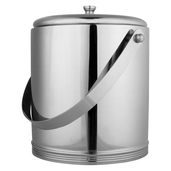 Stainless Steel, Double Wall, Ice Bucket, 1.5 LTRS, Set of 2