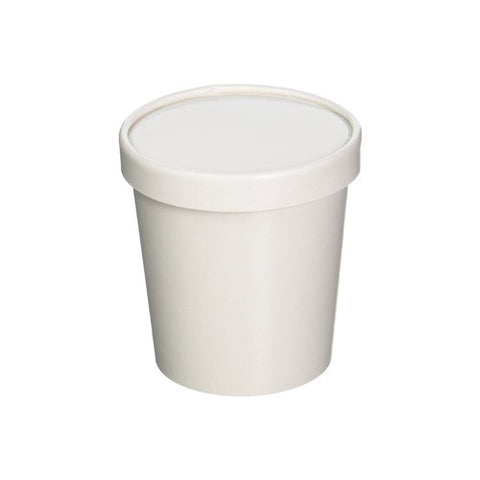 750 ML Paper Container with Lid