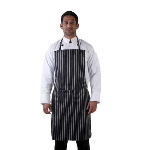 Striped Kitchen Neck Apron