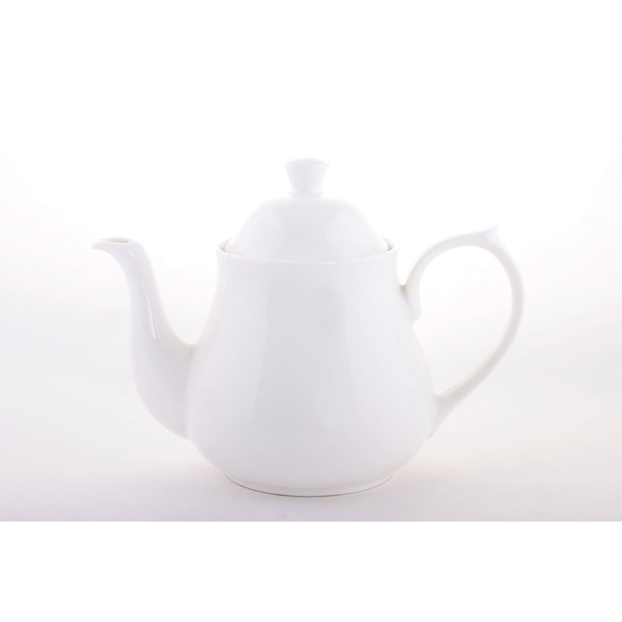Tea Pot 4 Cup, Bone China, Clay Craft, Set of 12