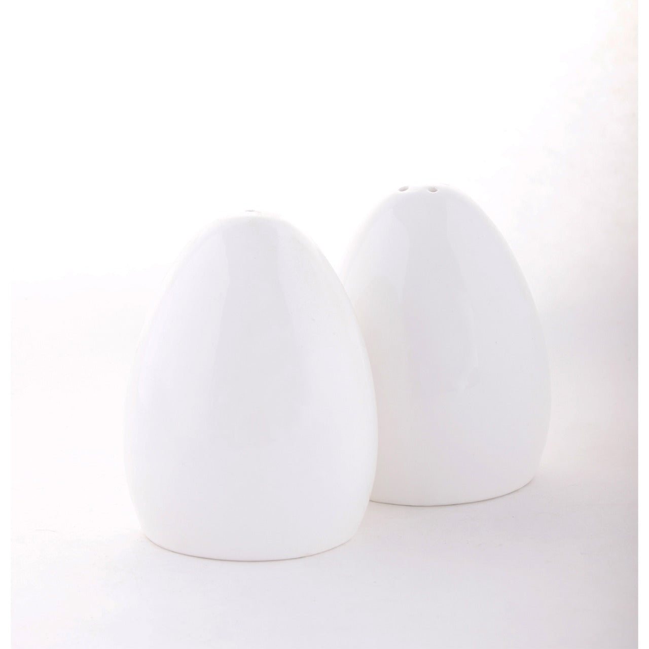 Egg Cruet Set,Bone China,Clay Craft,Set of 6 pairs