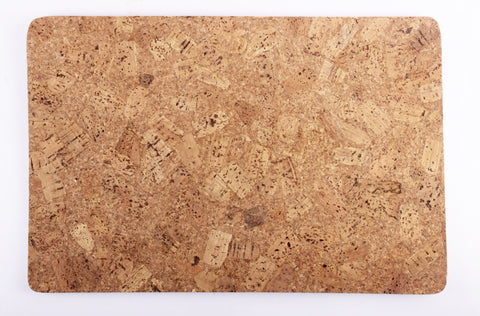 Cork Table Mat, Plain, 12 x 18 Inches, FNBFleet