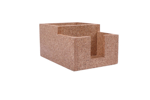 Cork Caddy, 2 Compartment, 20 x 14 cm, FNBFleet
