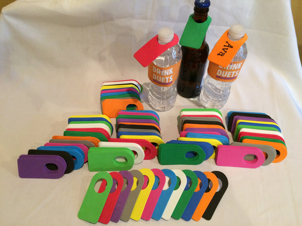 Bottle ID Tags in Bulk 500 Qty