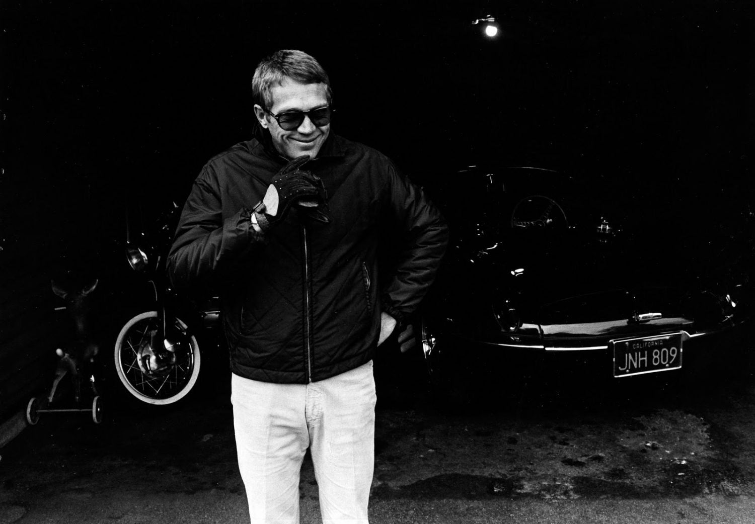 How To Channel Steve McQueen's Off-Duty Casual Cool