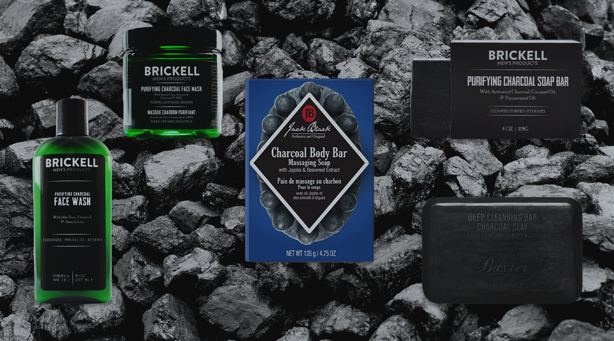 5 Best Men's Charcoal Products