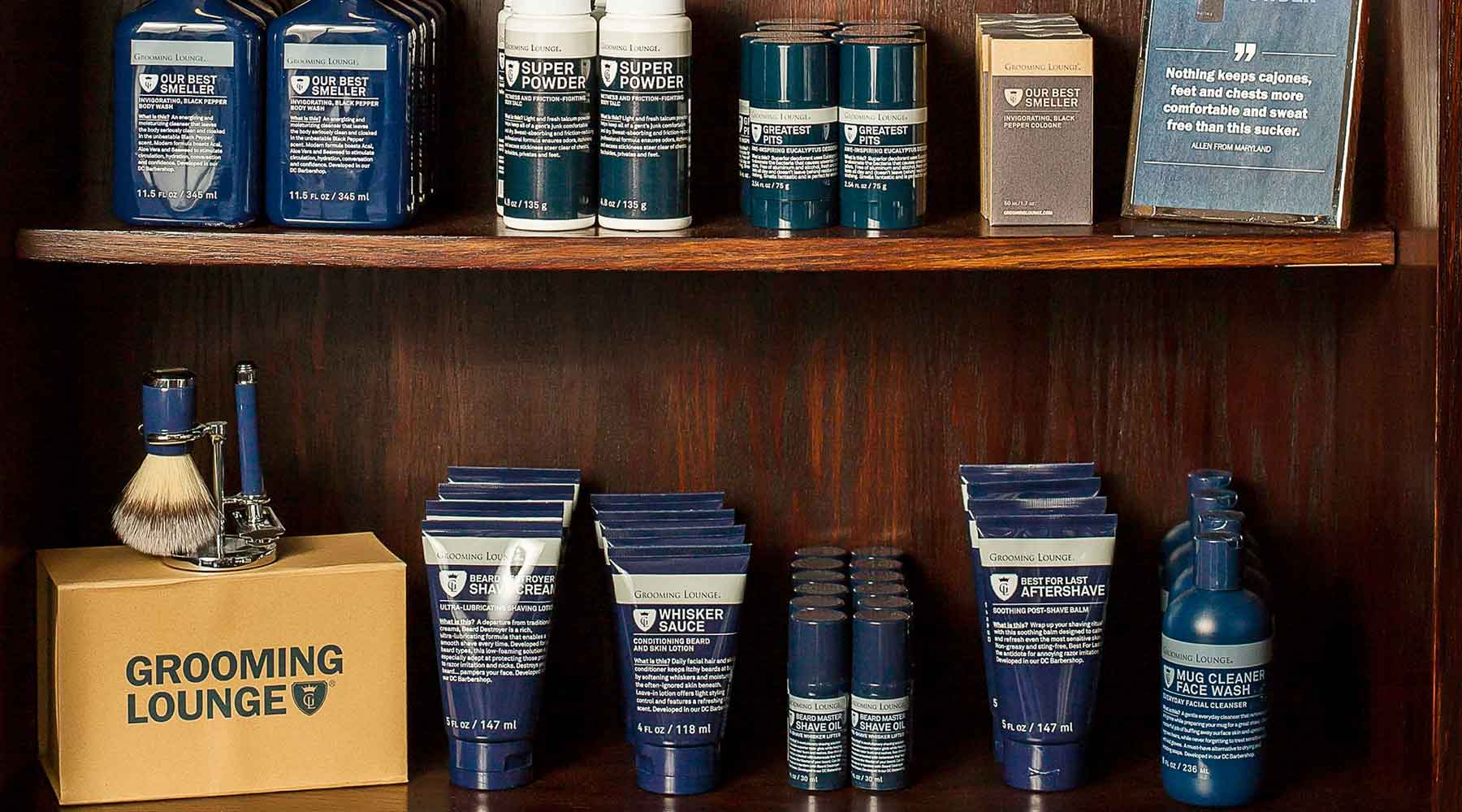 Travel Sized Men's Grooming Products
