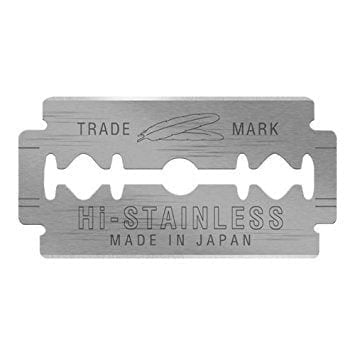 Feather Hi-Stainless Platinum Double Edge Razor Blades 10 Blade Pack