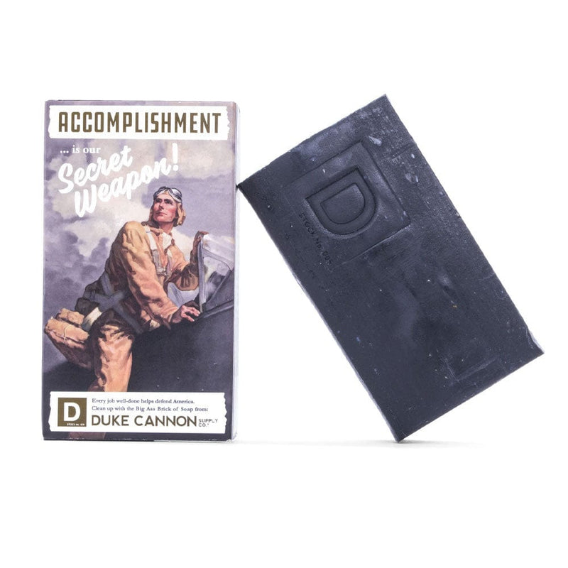 Duke Cannon Supply Co. Big Ass Brick of Soap - Accomplishment (Black Pepper)