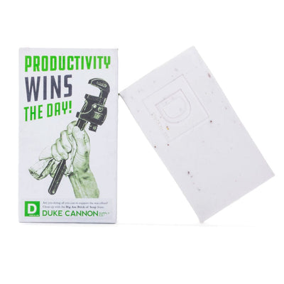Duke Cannon Supply Co. Big Ass Brick of Soap - Productivity (Energizing Mint)