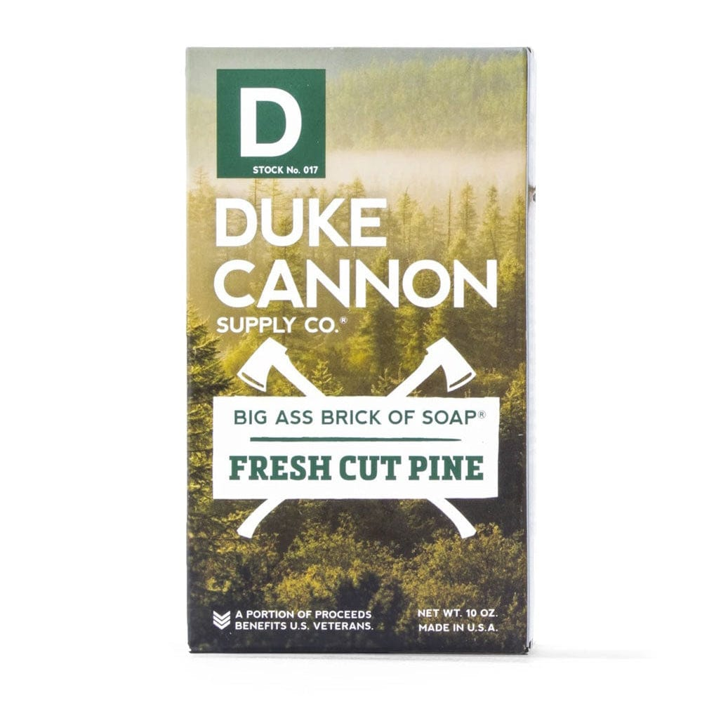 Duke Cannon Big Ass Brick Soap - Fresh Cut Pine