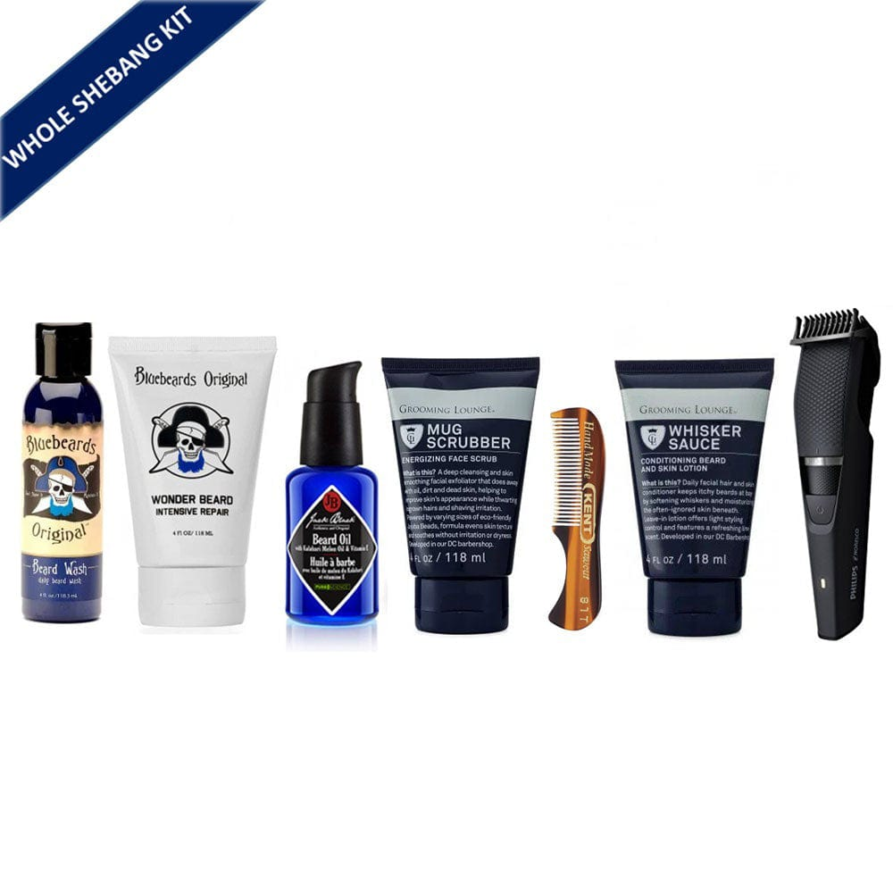 The Whole Shebang Beard Maintenance Kit