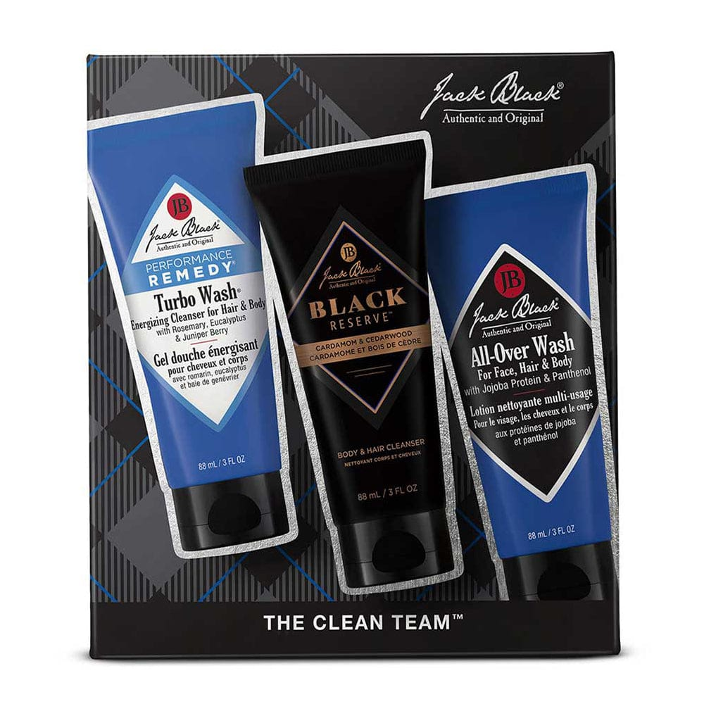 Jack Black The Clean Team Gift Set ($32 Value)
