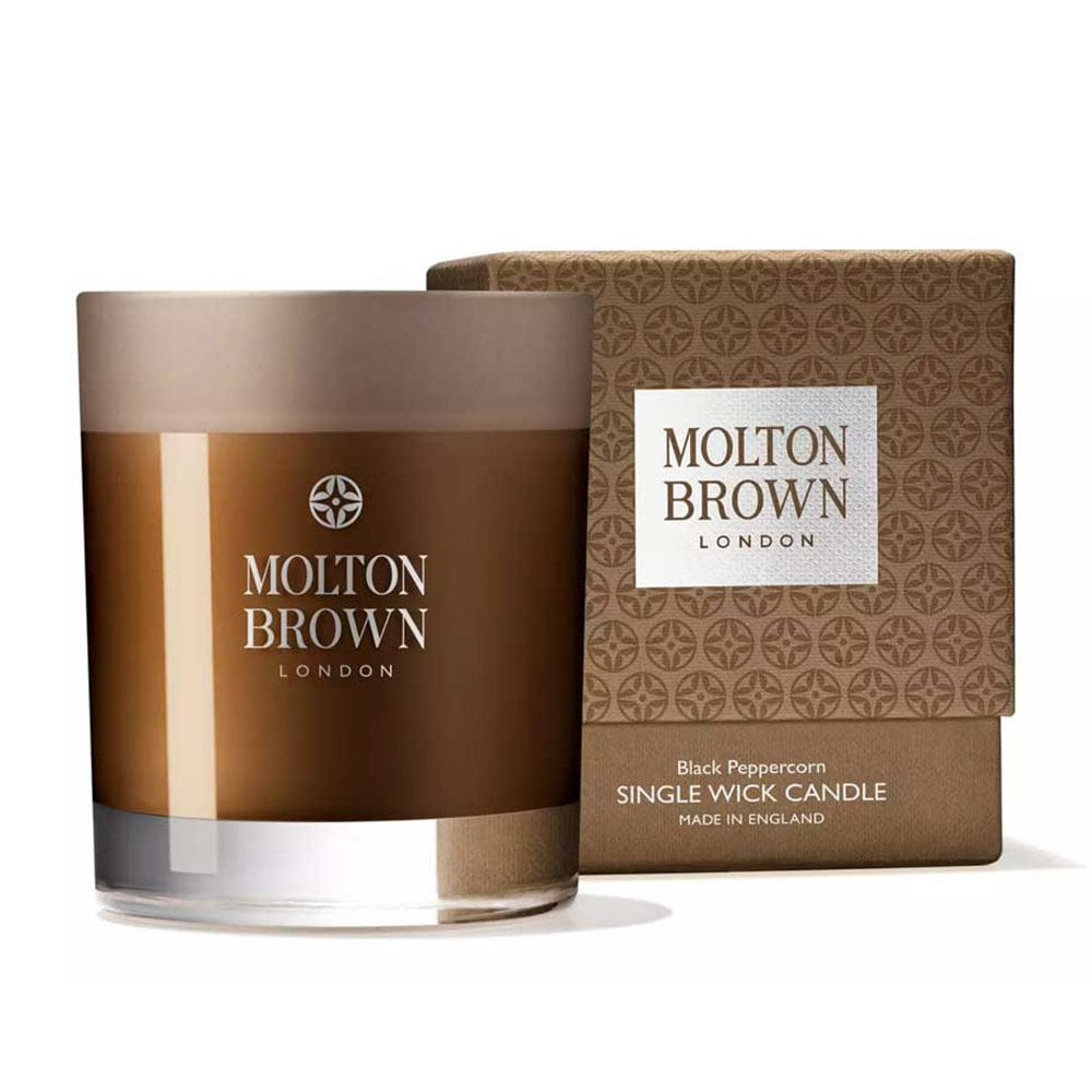 Image of Molton Brown Black Peppercorn Single Wick Candle