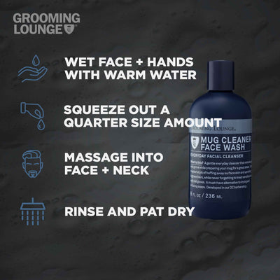 Grooming Lounge Mug Cleaner Face Wash