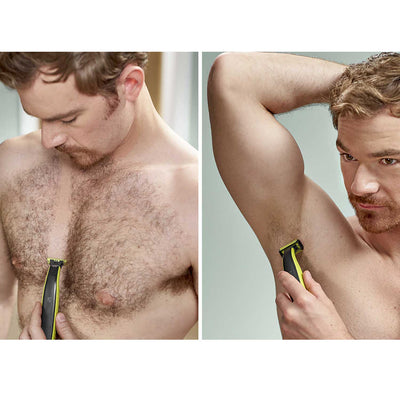 Philips Norelco OneBlade Face+Body Hair Trimmer