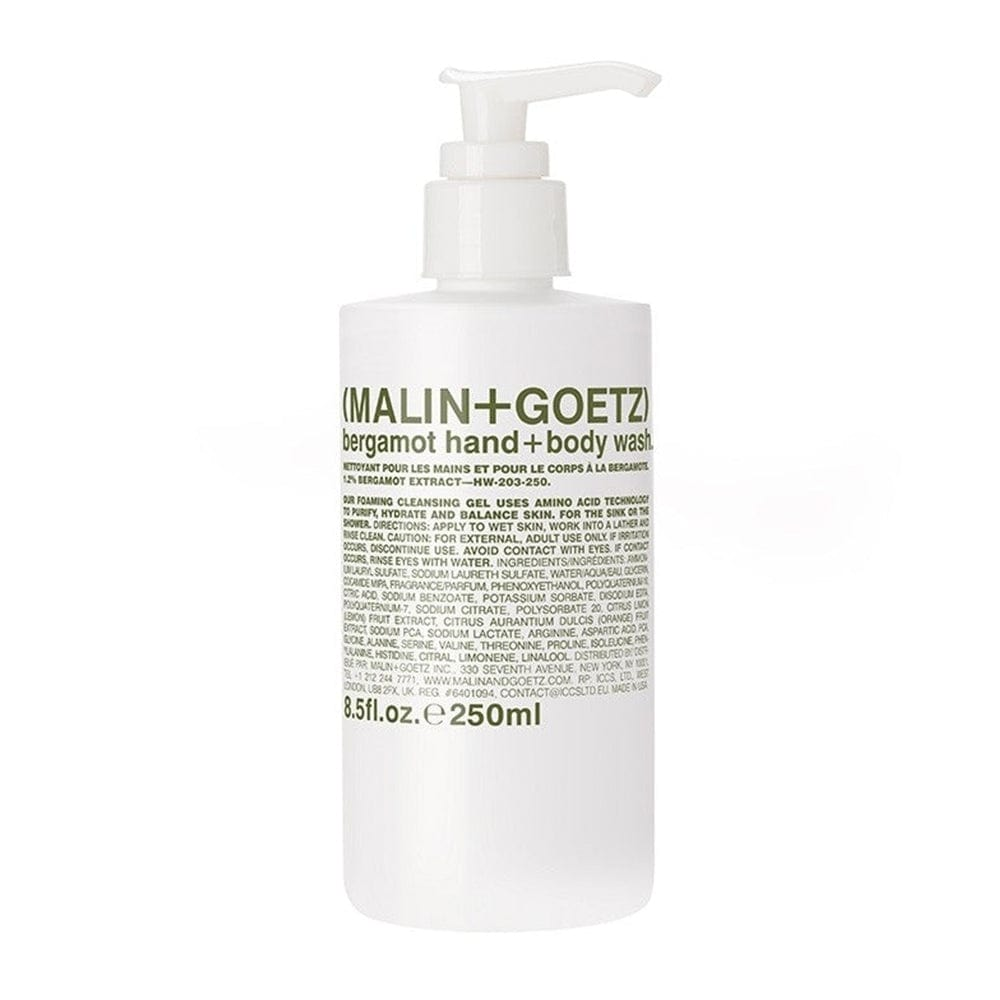 Malin + Goetz Bergamot Hand + Body Wash - 8.5 oz.