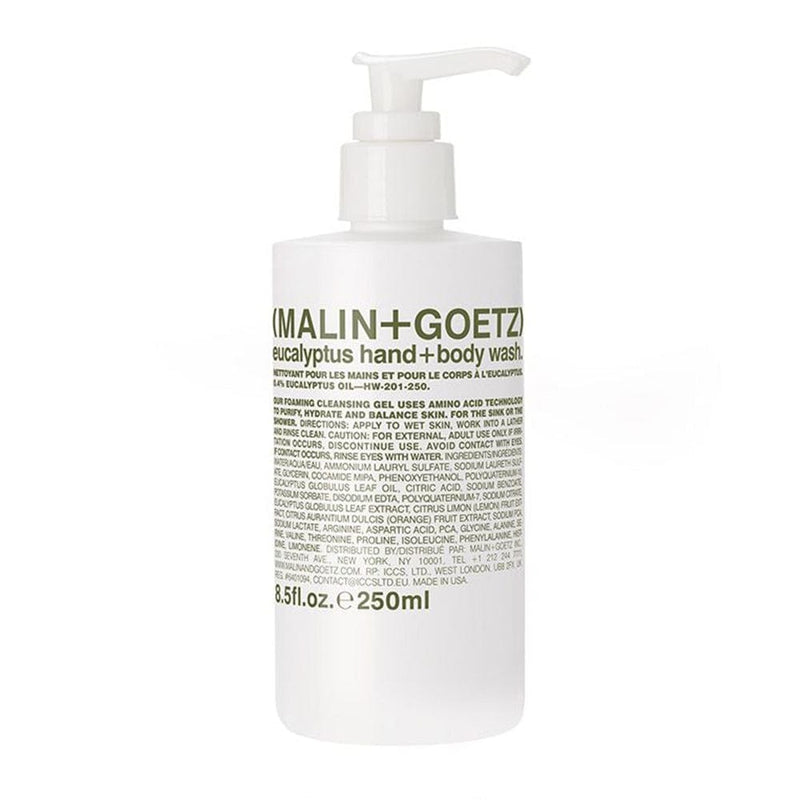 Malin + Goetz Eucalyptus Hand + Body Wash - 8.5 oz.