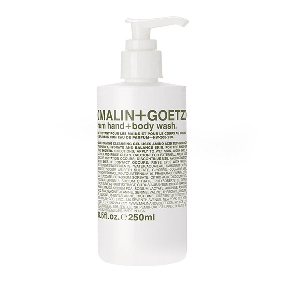 Malin + Goetz Rum Hand + Body Wash - 8.5 oz.