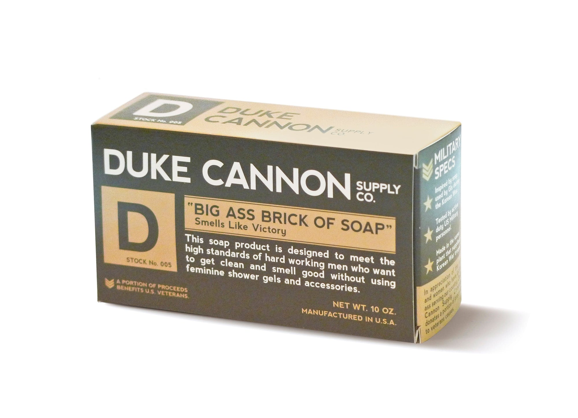 Duke Cannon Supply Co. Big Ass Brick of Soap - Green (Coriander/Musk)