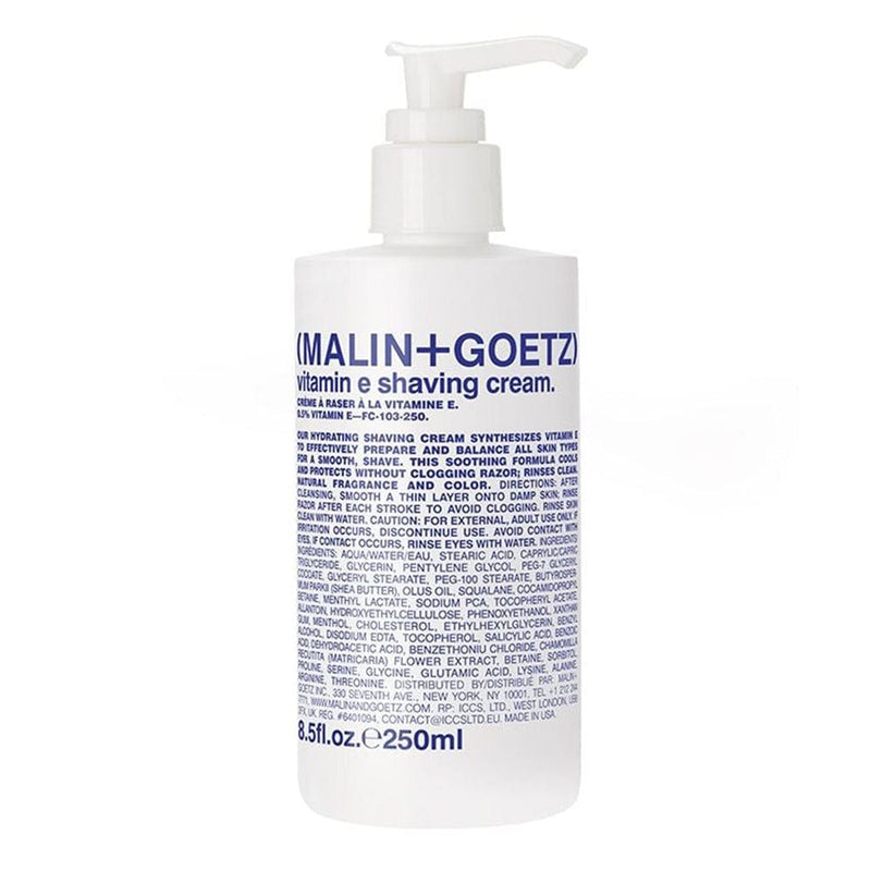 Malin + Goetz Vitamin E Shaving Cream - 8.5 oz. Pump
