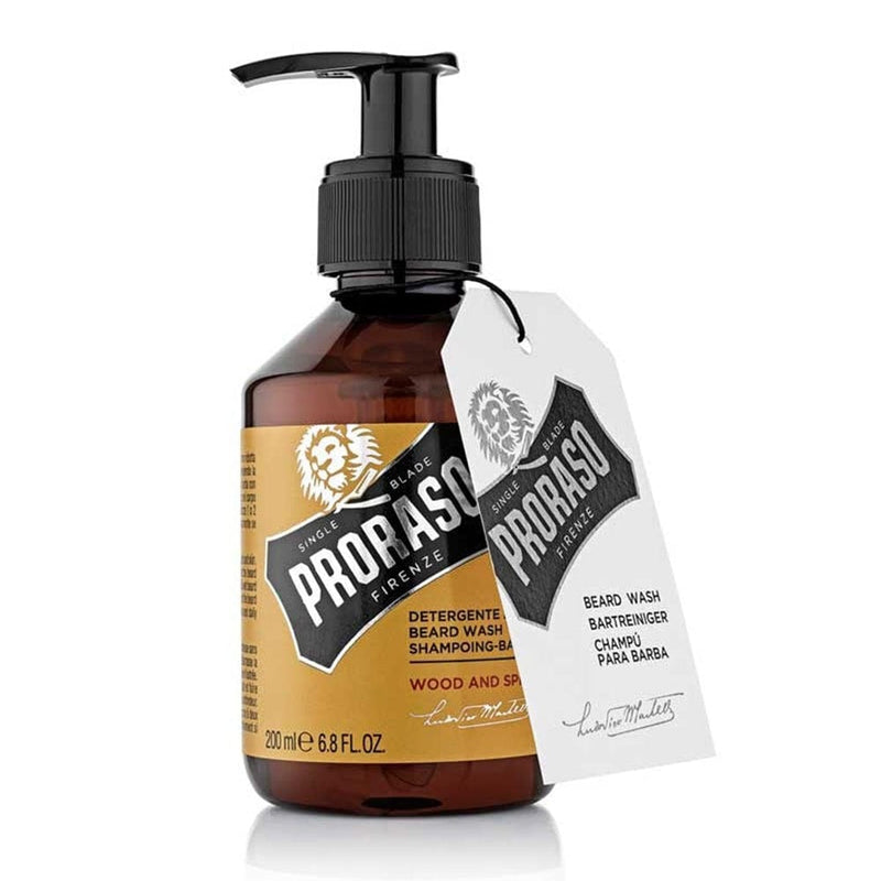 Proraso Wood & Spice Beard Wash