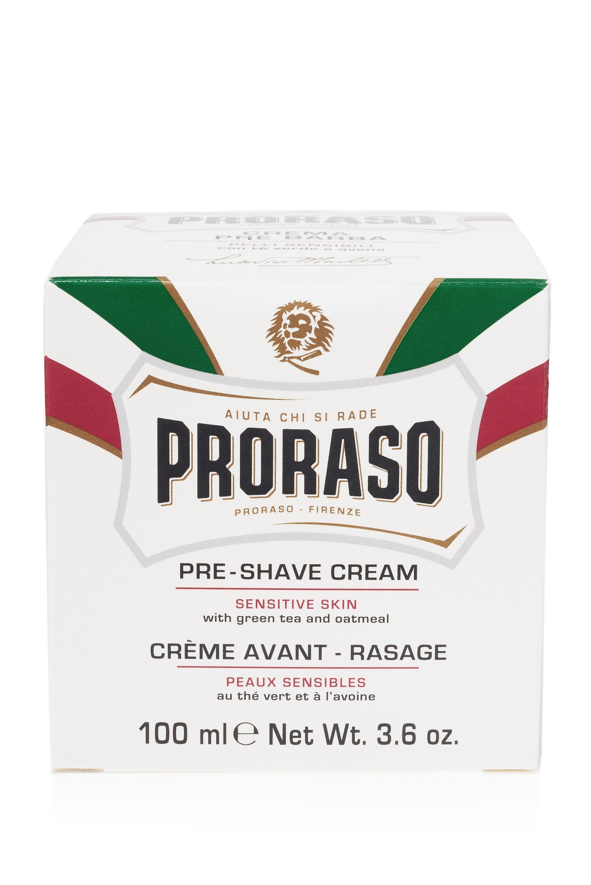 Proraso Preshave Cream - Sensitive (White)