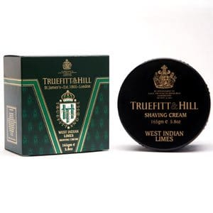Truefitt & Hill Shave Cream Tub - West Indian Limes