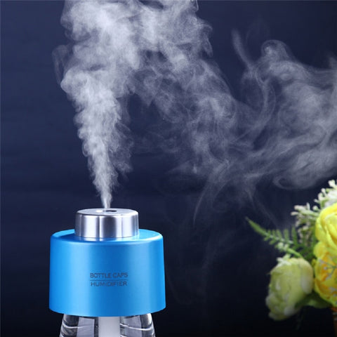 Usb Gadget Mini Humidifier Office Air Diffuser 2pcs Absorbent Filter Sticks USB Portable ABS Water Bottle Cap Aroma Mist Maker