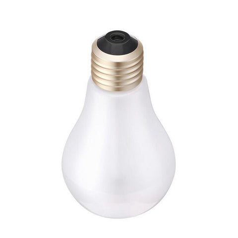 Newest Colours Light Night Light Bulb Mini Air Freshener USB Gadgets Portable Bottle Steam Air Humidifier Office Can Add Perfume