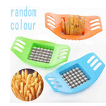 Stainless Steel Potato Cutter Slicer Chopper Kitchen Cooking Tools Gadgets Multi-function potato slicer