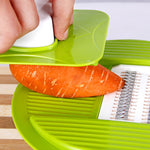 2018 New Multi-function Vegetable Slicer Stainless Steel Cutting Fruit Grater Potato Cutter Chopper Kitchen Gadget
