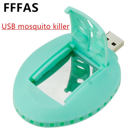 FFFAS USB Electric Mosquito Repeller Killer USB Gadget USB Mosquito-repellent Incense Heating Summer Mosquito Skeeter Killer