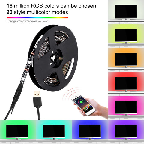 DC5V USB Gadget LED Light Strip Controller for 3528 5050 RGB lighting with Timer Color Changing for Bars Home Coffee