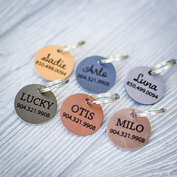 Customized Pet ID Tag | Cat Tag | Dog Tag