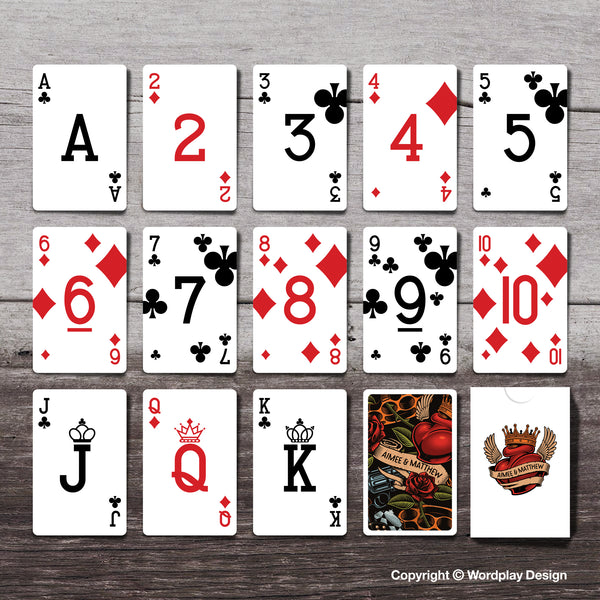 Bespoke playing card pack design