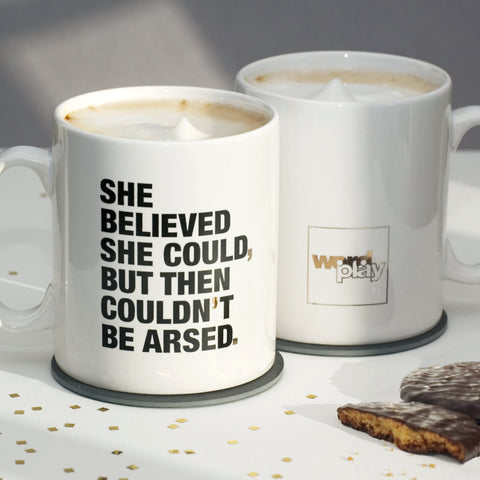 Funny Motivational Quote Mug / SECOND