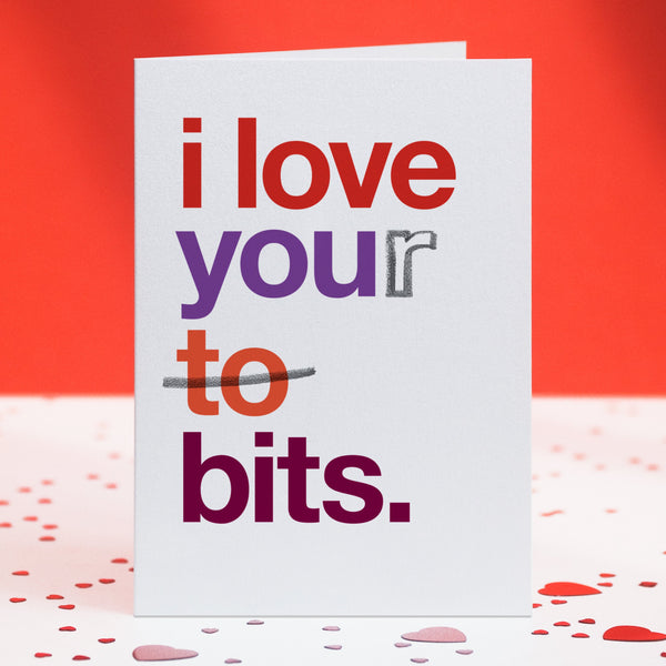 Rude Funny Love Card