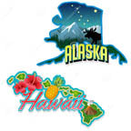 Hawaii & Alaska icon
