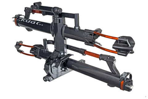 "Kuat NV 2.0 / 2-Bike Rack / 2"" Receiver / Gray Metallic Orange Anodize"