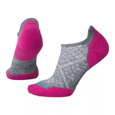 Smartwool Womens PhD Run Light Elite Micro Socks Medium Gray